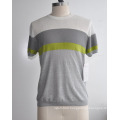 Spring&Summer Fashion Short Sleeve Knitwear Man Sweater